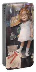 Shirley Temple Doll Portable Battery Charger by Donna Wilson