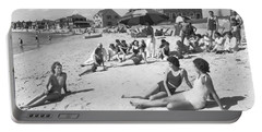 Silver Beach On Cape Cod Portable Battery Charger by Underwood Archives
