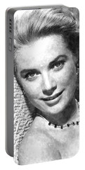 Simply Stunning Grace Kelly Portable Battery Charger by Florian Rodarte