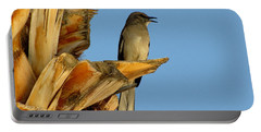 Singing Mockingbird Portable Battery Charger by Marilyn Smith