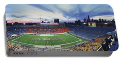 Soldier Field Football, Chicago Portable Battery Charger by Panoramic Images