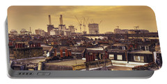 South London Skyline  Portable Battery Charger by Rob Hawkins