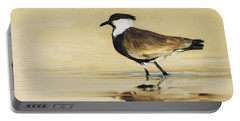 Spur-winged Lapwing Portable Battery Charger by Avi Meir
