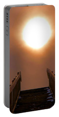 Stairway To Heaven Portable Battery Charger by Dan Sproul