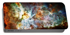 Star Birth In The Carina Nebula  Portable Battery Charger by The  Vault - Jennifer Rondinelli Reilly