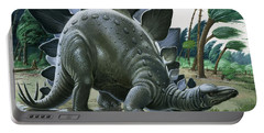 Stegosaurus Portable Battery Charger by English School