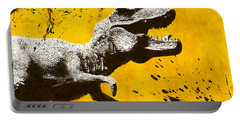 Stencil Trex Portable Battery Charger by Pixel Chimp