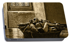 Still Life At Chenonceau Portable Battery Charger by Nikolyn McDonald