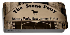 Stone Pony Enter Here Portable Battery Charger by Paul Ward