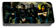 Stone Temple Pilots Portable Battery Charger by Marvin Blaine