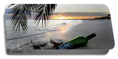 Lost In Paradise Portable Battery Charger by Jon Neidert