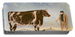 Study Of A Shorthorn Portable Battery Charger by William Joseph Shayer