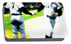 Summer Of The Gods  Iv 1961 Mickey Mantle Portable Battery Charger by Iconic Images Art Gallery David Pucciarelli