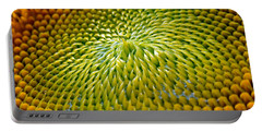 Sunflower  Portable Battery Charger by Christina Rollo
