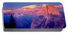 Sunlight Falling On A Mountain, Half Portable Battery Charger by Panoramic Images