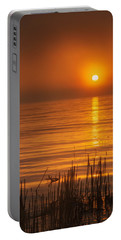 Sunrise Through The Fog Portable Battery Charger by Scott Norris