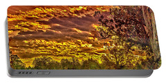 Sunset Navajo Tribal Park Canyon De Chelly Portable Battery Charger by Bob and Nadine Johnston