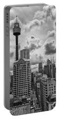 Sydney Skyline Portable Battery Charger by Douglas Barnard