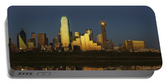 Texas Gold Portable Battery Charger by Rick Berk