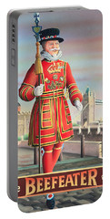 The Beefeater Portable Battery Charger by Peter Green