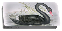 The Black Swan Portable Battery Charger by John Gould