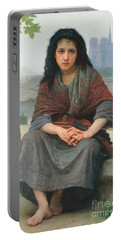 The Bohemian Portable Battery Charger by William Adolphe Bouguereau