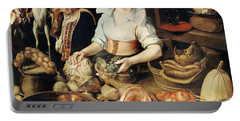 The Cook Portable Battery Charger by Pieter Cornelisz van Rijck