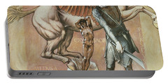 The Death Of Medusa I, C.1876 Portable Battery Charger by Sir Edward Coley Burne-Jones