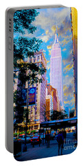 The Empire State Building Portable Battery Charger by Jon Neidert