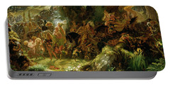 The Fairy Raid Portable Battery Charger by Sir Joseph Noel Paton