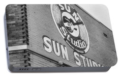 The Famous Sun Studio In Memphis Tennessee Portable Battery Charger by Dan Sproul