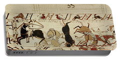 The Bayeux Tapestry Portable Battery Charger by French School