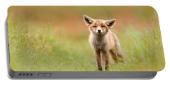 The Funny Fox Kit Portable Battery Charger by Roeselien Raimond