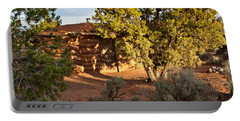 The Hogan Canyon Dechelly Park Portable Battery Charger by Bob and Nadine Johnston
