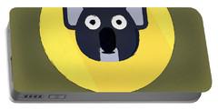 The Koala Cute Portrait Portable Battery Charger by Florian Rodarte