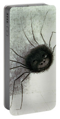 The Laughing Spider Portable Battery Charger by Odilon Redon