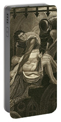 The Murder Of The Two Princes Portable Battery Charger by James Northcote