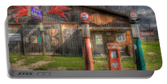 The Old Service Station Portable Battery Charger by David and Carol Kelly