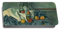 The Peppermint Bottle Portable Battery Charger by Paul Cezanne
