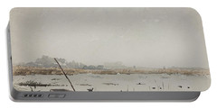The Pond  Portable Battery Charger by Henri Duhem
