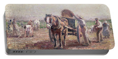 The Potato Pickers Portable Battery Charger by Harry Fidler