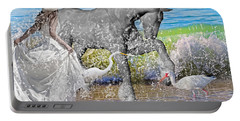 The Sea Horse Portable Battery Charger by Betsy Knapp