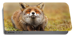 The Smiling Fox Portable Battery Charger by Roeselien Raimond