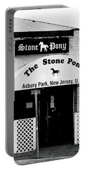 The Stone Pony Asbury Park Nj Portable Battery Charger by Terry DeLuco