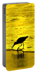 This Beach Belongs To Me Portable Battery Charger by Ian  MacDonald