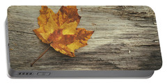 Three Leaves Portable Battery Charger by Scott Norris