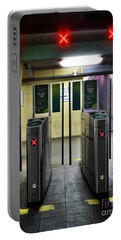 Ticket Gates Portable Battery Charger by Carlos Caetano