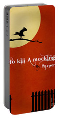 To Kill A Mockingbird Book Cover Movie Poster Art 1 Portable Battery Charger by Nishanth Gopinathan