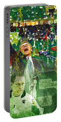 Tom Izzo String Music Portable Battery Charger by John Farr