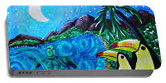 Toucan Bay Portable Battery Charger by Sarah Loft